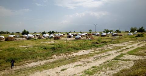 IDP Settlement in Tilde Pont (Makary), Logone-et-Chari Department, Far North region of Cameroon