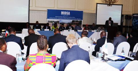 Funcionarios de la SADC se congregan para deliberar sobre las dificultades derivadas de la migración mixta e irregular en la región.