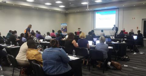 Participants at the National Migration Health Consultation in Johannesburg, South Africa.