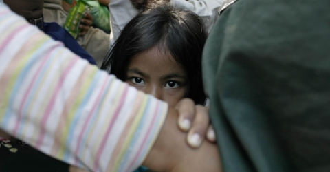 A child trafficking survivor in Cambodia. Photo: UN Migration Agency (IOM) 2005