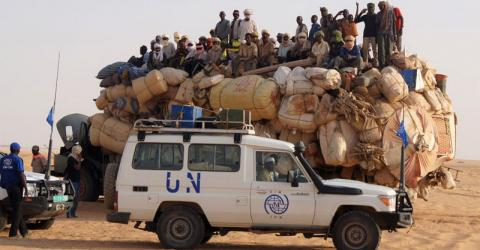 IOM already works in close cooperation with UN partners worldwide. Photo: IOM.