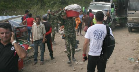 IOM is responding to the needs of Colombians on both sides of the border.  © IOM/Hugo Sánchez 2015