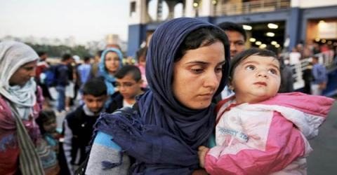 Cyprus this week accepted the first of over 500 refugees relocated from Greece. Photo: Cyprus Mail