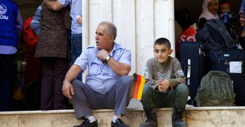 Germany plans to reunify more Syrian families. Photo: IOM.