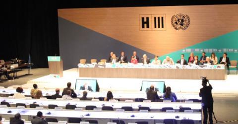 Habitat III convenes in Quito. Photo: IOM