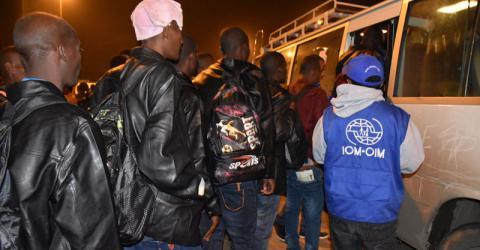 Ethiopian migrants arrive in Addis Ababa. Photo: IOM 2016