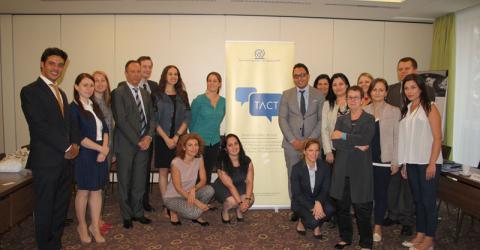 La OIM y la Unión Europea (UE) lanzan una plataforma online que incluye una herramienta de derivación transnacional diseñada para fortalecer la respuesta profesional a las necesidades de las víctimas del delito de trata de personas. Foto: OIM.