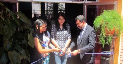 Migration management training units open in Honduras.