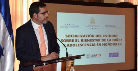 """""""Como OIM, apoyaremos todos los esfuerzos para prevenir la violencia contra las niñas, niños y adolescentes"""