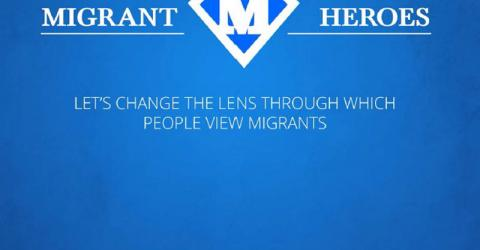 IOM's Migrant Heroes campaign, which reinforces its Migrants Contribute campaign, is a global awareness campaign countering misinformation and negative perceptions of migrants by presenting evidence of success in accessible ways.