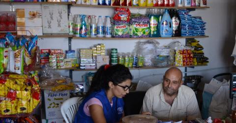 An IOM report reveals that many Lebanese families returning home from Syria face the same difficulties as Syrian refugees in finding housing, food and jobs. They face the added problem of not being able to get aid earmarked for refugees. © IOM 2014