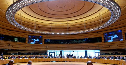 The meeting will take place in Luxembourg's European Conference Centre.