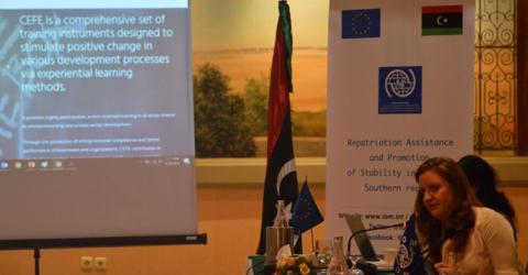 La estabilidad en el sur de Libia protegerá a los migrantes y facilitará la gestión de la migración. Foto: OIM
