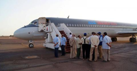 A partir de 2011, miles de migrantes de África Occidental han regresado voluntariamente desde Libia a su lugar de origen con ayuda de la OIM. Foto de archivo: OIM