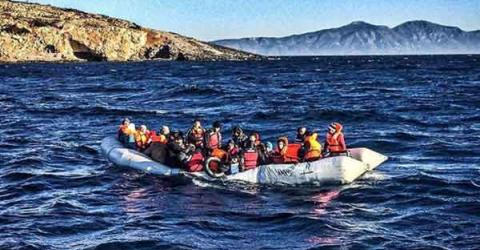 Migrants and refugees continue to arrive in Greece despite winter weather. Photo: Jason Florio / MOAS EU