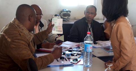 IOM facilitates a travel documents control workshop for Madagascar public security officials. Photo: IOM 2016