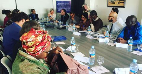 IOM and partners launch a referral system to protect migrants. Photo: IOM