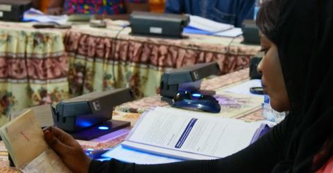 IOM launches Border Management Mechanism in Niger project. Photo: IOM