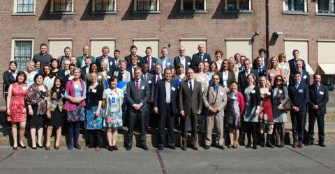 Participants of IOM's international symposium about the return and reintegration of migrants with health issues. © IOM 2015