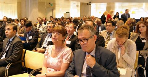 Migration and diaspora experts attend IOM's Temporary Return of Qualified Nationals in Practice (TRQN) conference last 2 June 2015. © IOM 2015