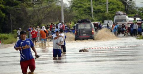 The floods in Peru have affected nearly 124,000 people. Photo: IOM