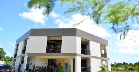 The evacuation center is the first of its kind in the Philippines. Photo: Ray Leyesa / IOM 2016.