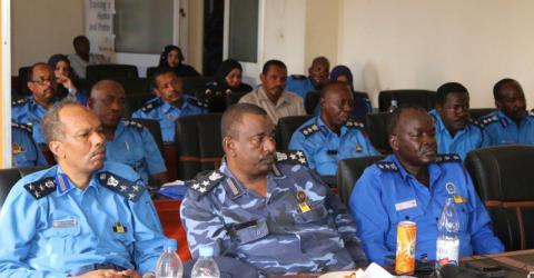 Senior Sudanese immigration officers study border management. Photo: IOM