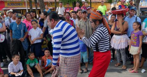 Community festivals contribute to the protection of migrants in El Salvador. © IOM 2015