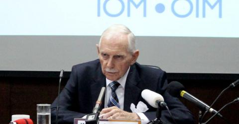 IOM Director General William Lacy Swing at the Second Special Meeting on Irregular Migration in Bangkok, 4 December 2015.