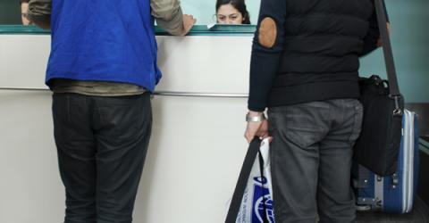 A Syrian migrant leaves Turkey for western Europe. Photo: IOM