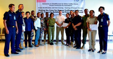 Participantes en el curso realizado en Dili, Timor-Leste. Foto: OIM 2016