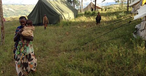 Burundians are fleeing to Tanzania to escape violence at home. © IOM 2015