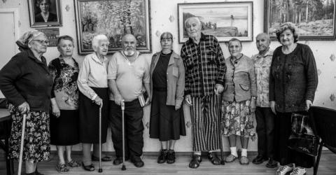 Some 60 percent of Ukraine's 1.7 million displaced are pensioners. Photo: Amanda Nero 2015