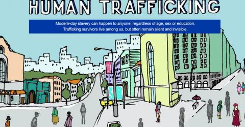 IOM Ukraine launches online campaign to combat human trafficking in Ukraine.