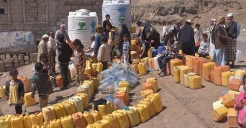 La catastrophe humanitaire au Yémen menace plus de 3,3 millions de déplacés depuis le début de la crise. Photo: UNICEF / Algabal 2017