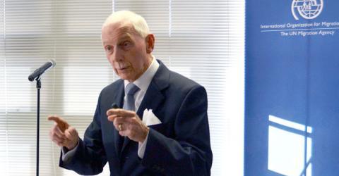William Lacy Swing, Directeur général de l'OIM. Photo: IOM