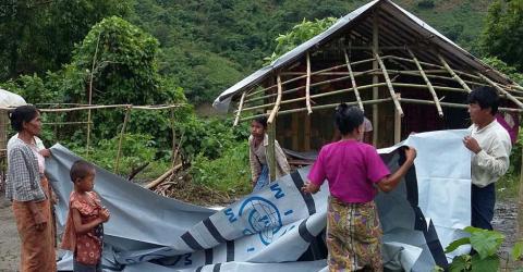 Myanmar - Floods and Landslide Response | 2015