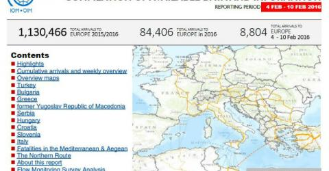 Europe/Mediterranean - Mixed Flows in the Mediterranean and Beyond | 10 February 2016