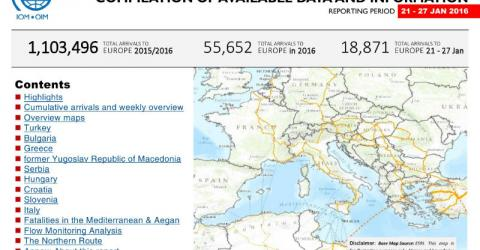 Europe/Mediterranean - Mixed Flows in the Mediterranean and Beyond   27 January 2016
