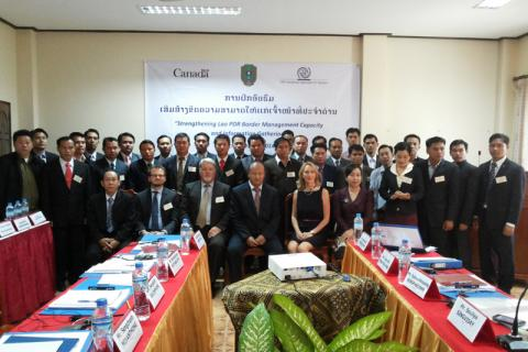 Canada-IOM training for border officials in Luang Prabang, Lao PDR © IOM 2014