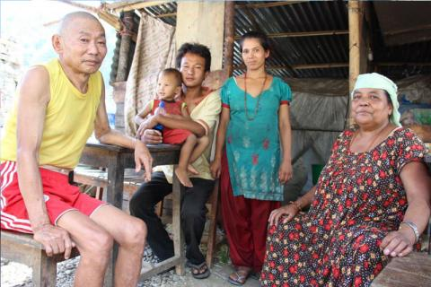 Despite economic hurdles, the family wish to stay together in the future. © IOM/Eunjin Jeong 2015