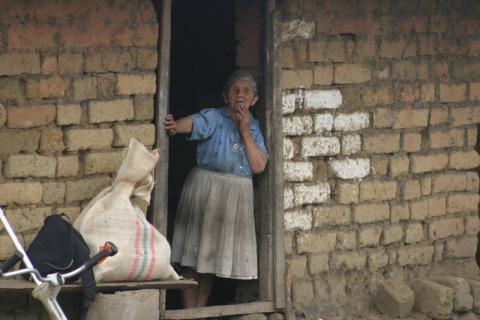 Ce sont les communautés rurales et paysannes de Colombie qui ont été les plus touchées par la violence. Selon le dernier rapport du Centre national de la mémoire historique, celle-ci a entraîné la mort de plus de 220 000 personnes, dont quelque 180 000 civils, ces 50 dernières années. © OIM 2005