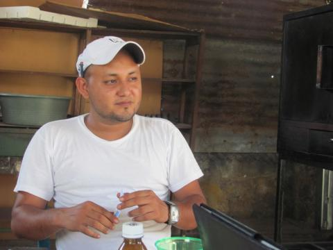 Twenty-seven year old Tony traveled to the United States in April of 2012.  He was returned to El Salvador after being intercepted as he tried to cross into the United States. © IOM 2013