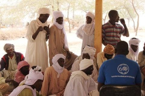 Current needs for the reintegration of the returnees from Libya have been assessed by IOM in the whole country. © IOM 2012