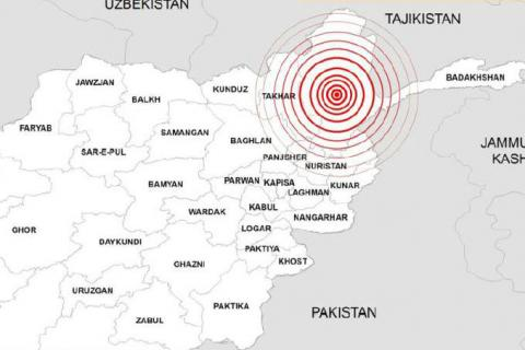Afghanistan - Earthquake Response Situation Report | 28 October 2015