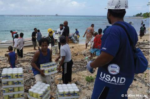 Micronesia - Typhoon Maysak Response Situation Report | October 2015