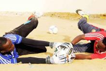 Over 100 Somalis play football every day © IOM (Photo: A. Salad)