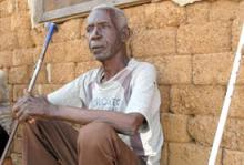 Joseph Lino, 67 years old, spent most of his life in a displacement camp in Khartoum where the conditions they lived and worked under were