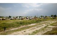 Asentamiento para desplazados internos en Tilde Pont (Makary), departamento de Logone-et-Chari, región del extremo norte de Camerún