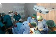 IOM medics performing surgery at Hamman al-Alil Field Hospital. Photo_IOM Iraq 2017